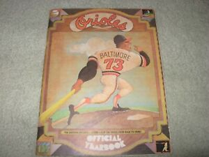 1973 BALTIMORE ORIOLES Official Yearbook BROOKS ROBINSON JIM PALMER EARL WEAVER