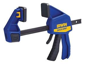 """Irwin Quick-Grip T524QCEL7  One-Handed Bar Clamp / Spreader 600mm / 24"""""""