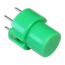 2 C&K D6R50F1LFS-GN Taster rund 3VA 100mA 32V DC Eingabetaster grün 855191