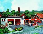 "Heljan 1776 HO Modern Gas Station Kit - 6 x 4 x 2-13/64"" 15 x 10 x 5.5cm"
