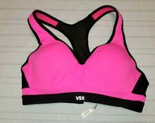 VICTORIA SECRET SPORTS BRA SIZE 34B Pink & Black Womens