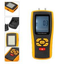 Handheld Differential Pressure Gauge Manometer 10KPa USB GM510 Digital Tester