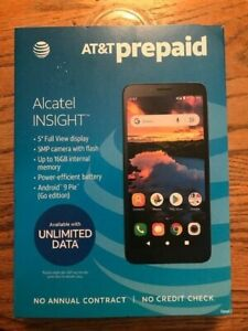AT&T ALCATEL INSIGHT BRAND NEW PREPAID CELL PHONE