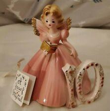 Josef Originals Pink 10th Birthday Angel & Book Rare Vintage Figurine Wholesale