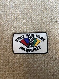 State Fair Park Milwaukee Embroidered Racing Patch