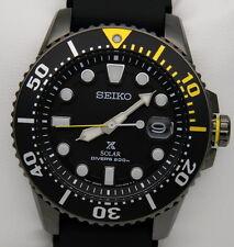Seiko Solar SNE441P1 Prospex Diver's 200m Uomo Nuovo con Box e Garanzia
