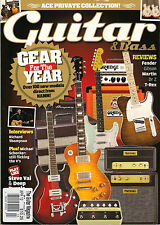 GUITAR & Bass Magazine April 2012 Michael Schenker Play Like STEVE VAI & GLOVER