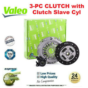 VALEO 3PC CSC CLUTCH KIT for VAUXHALL SIGNUM 1.9 CDTI 2004-2008