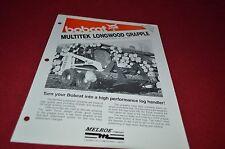 Bobcat Skid Loader Multitek Longwood Grapple Dealers Brochure DCPA2