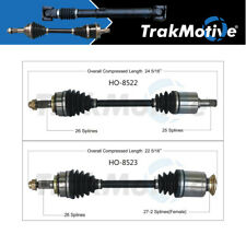 Surtrack 2PCS FRONT LEFT/RIGHT Cv Axle Shaft For 2014-2015 Civic Auto CVT GAS