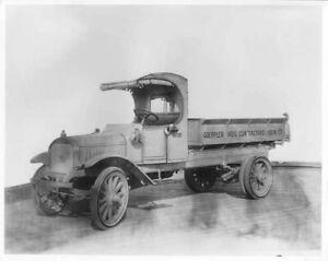1920s Era Mack AB Truck Factory Press Photo 0025 - Goeppler Bros Contractors