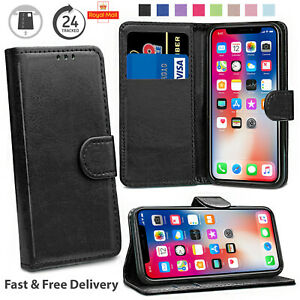 Folding Wallet Flip Case Cover For All iPhone 13/12/11 PRO MAX MINI X/XS/8/7/6 +