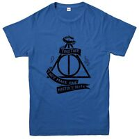 Deathly Hallows T-Shirt, Harry Potter Fantasy Movie Inspired Tee Top