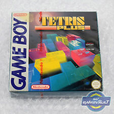Tetris Plus - Nintendo Game Boy Game NEW Factory Sealed UK PAL Red Tear Strip