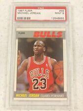 1987-88 Fleer #59 Michael Jordan Bulls HOF PSA 9 Mint