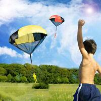 Kinder Hand werfen Tuch Soldat Fallschirm Lustige Mini-Spielzeug Geschenk Verkau