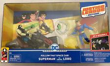DC Justice League Action Superman Vs. Lobo Figures
