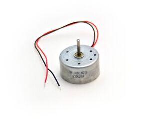 Mini Micro DC Elektro Solar Motor Solarmotor 0,5-4V 3500 U/min lange Achse 11mm