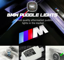 2X BMW M Logo Puddle Lights Door Courtesy Projectors OEM-Spec for BMW by FKAUTO