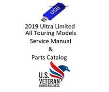 Service Manual For 2019 Harley Davidson Ultra Limited Flhtk Tour & Parts Catalog