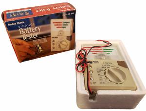 Vintage Radio Shack 9 Range Battery Tester 22-090 New Open Box