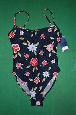 Vintage CONTE OF FLORENCE bikini sea Swim wear Suit 48 new hawaii floreal lycra