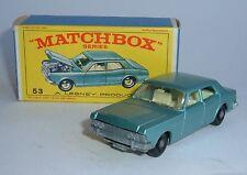 Matchbox Series No. 53, Ford Zodiac IV, - Superb Mint.