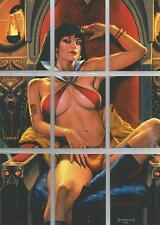 Vampirella (2011) - Puzzle Set of 9 Chase Cards #VP-1-9