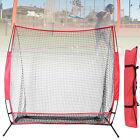 7ft Foldable Baseball Tennis Rebound Net Pitching Hitting Trainning Net Frame UK