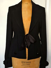 Alice Temperley runway designer evening tuxedo - size 10/40