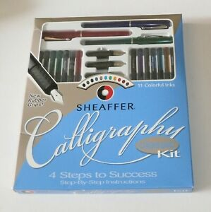 Sheaffer Calligraphy Classic Kit 4 Steps To Success Kit