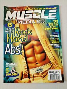 Vintage Muscle Media 2000 Bodybuilding Magazine April 1996