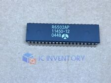 1Pcs R6502Ap R6502P R6502 Rockwell Cpu 6502 Dip-40 Ic Chip New