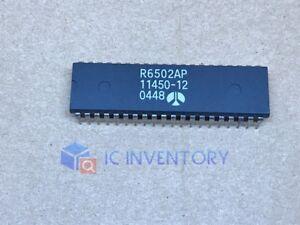 1PCS R6502AP R6502P R6502 Rockwell CPU 6502 DIP-40 IC CHIP New