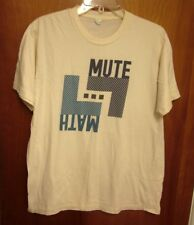 MUTEMATH lrg T shirt alt-rock band New Orleans psychedelic Christian tee 2000s