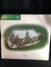 Dept 56 Christmas Village Assessory Craggy Cliff Platform Nib
