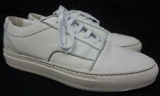 Common Projects Skate Low Top White Leather Sneakers Size 40 EU/US 7