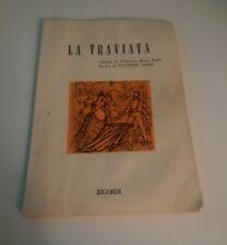 LA TRAVIATA - LIBRETTO F.MARIA PIAVE - G. VERDI - 1987