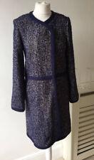 Monsoon Navy Blue Speckled Wool Blend Jacket / cardigan Sz 8 RRP £119 New