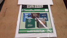 15 years YOUR CHOICE Stamp Supplement fits HARRIS WORLD LOW SHIPPING 4 quantity