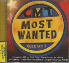 Music CD CMT Most Wanted Volume 1 Various Artists