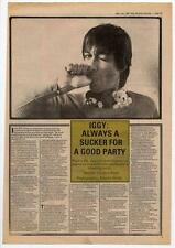 Iggy Pop Interview NME Cutting 1981