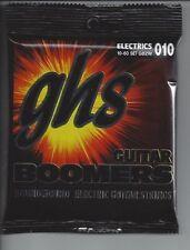 GHS Boomers GBZW Zakk Wylde Roundwound Electric Guitar Strings 10-60