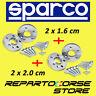 ENTRETOISES SPARCO 16 + 20 mm FIAT 500 ABARTH 595 160 cv