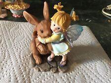 "My Little Kitchen Fairies ""CHOCOLATE BUNNY FAIRIE""  RARE"