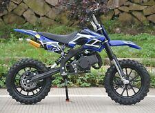 KXD01 Orion Pro Blue 50cc Mini Dirt Bike Petrol Kids Motorbike Pre-Order