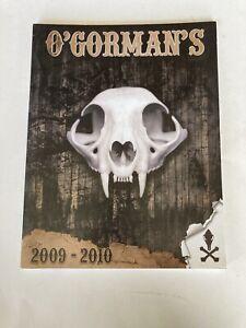 O'Gorman's 2009-2010 Catalog Hunting Trapping Outdoors O'Gorman Enterprises MT