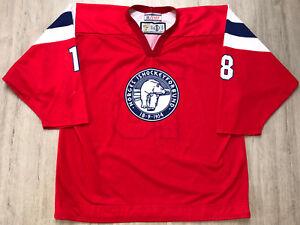 IIHF Norway Ice Hockey Women Game Worn Jersey Shirt TAckla NORGE Ishockey #18 WL