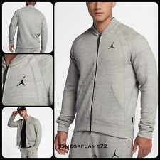Nike Air Jordan ali in Pile Bomber, 883987-063, Grigio Heather, taglia Med