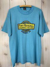 VTG Fort Randall Casino Hotel T-shirt Large Gambling USA Single Stitch Soft Thin